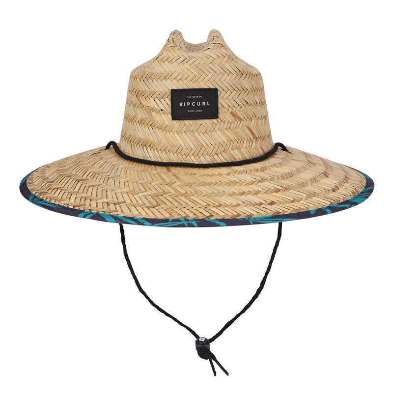 f1291080 Rip Curl Pool Side Straw Hat - Navy   Moment Surf Company