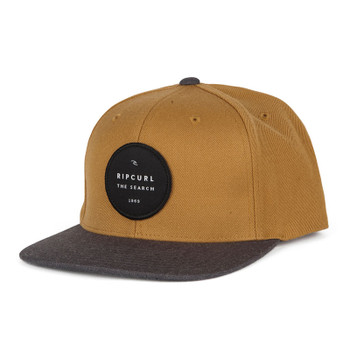 Rip Curl Valley Badge Snapback Hat - Yellow