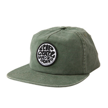 Rip Curl Washed Wettie Snapback Hat - Green