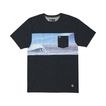HippyTree Pacific Tee - Heather Black