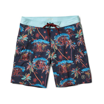 Roark Revival Savage Banyan Boardshorts - Navy