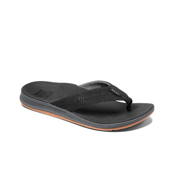 Reef Ortho-Bounce Coast Sandal - Black