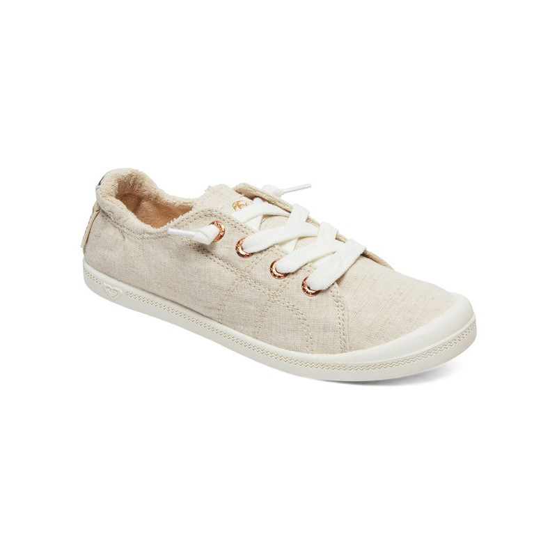 4b3e7a2dfa3 Roxy Bayshore Lace Up Shoes - Tan   Brown
