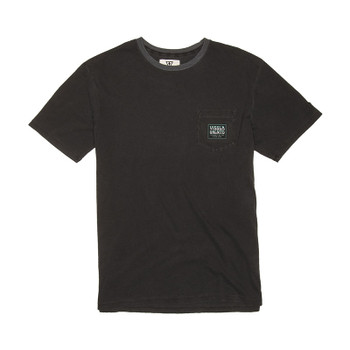 Vissla The Point Pigment Dye Tee - Phantom