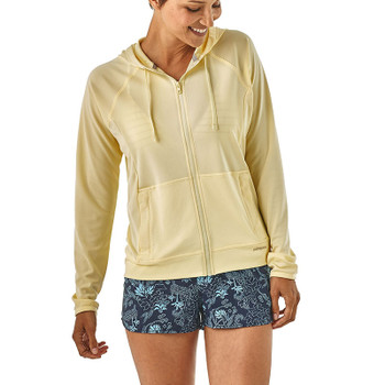 Patagonia Women's Coastal Hideaway Suncover Hoody - Resin Yellow