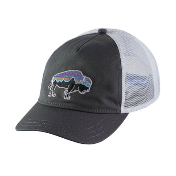 Patagonia Women's Fitz Roy Bison Layback Trucker Hat - Forge Grey
