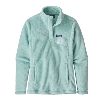 Patagonia Women's Re-Tool Snap-T Pullover - Atoll Blue - Atoll Blue X-Dye