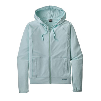 Patagonia Women's Coastal Hideaway Suncover Hoody - Atoll Blue