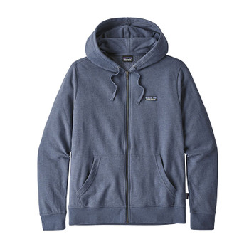 Patagonia Men's P-6 Label Lightweight Full Zip Hoody - Dolomite Blue