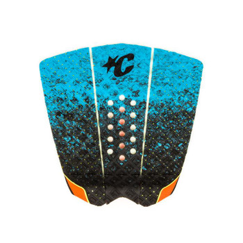 Creatures of Leisure Griffin Colapinto Signature Traction Pad - Cyan Fade Orange