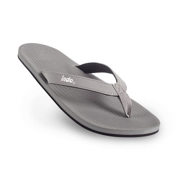 Indosole Men's ESSNTLS Flip Flops - Granite