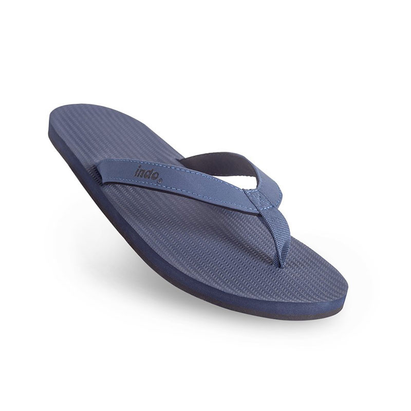 34e12f83f Indosole Men s ESSNTLS Flip Flops - Shore Blue
