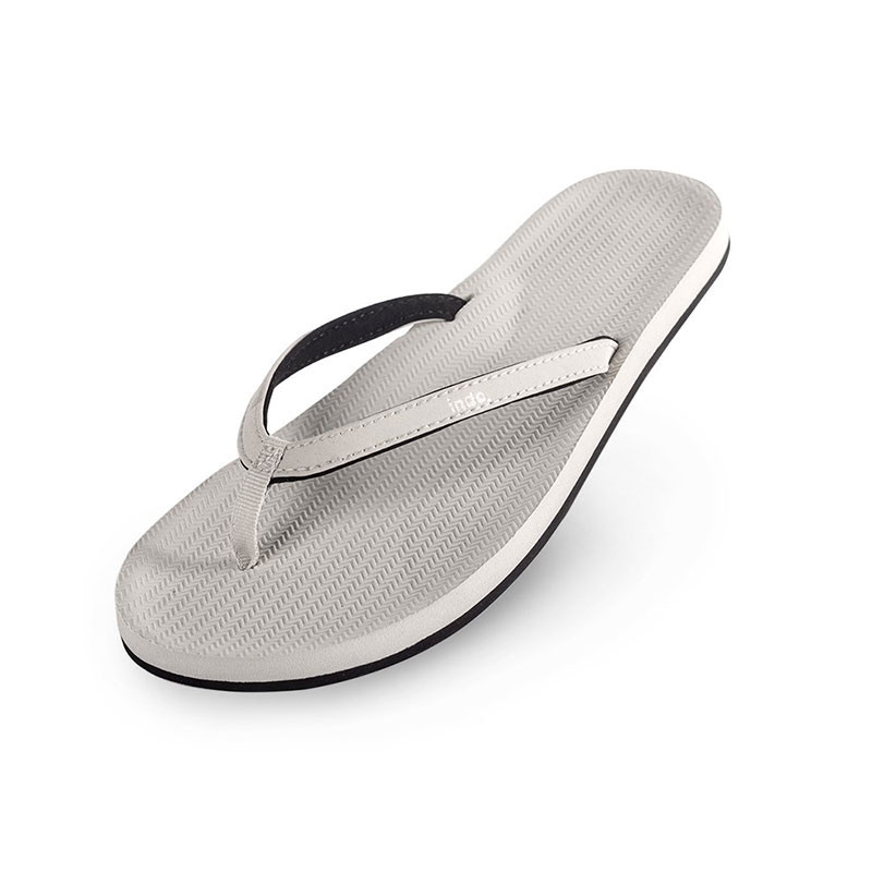 155db7126 Indosole Women s ESSNTLS Flip Flops - Sea Salt
