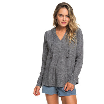 Roxy Wild Dreaming Hoodie - Charcoal Heather