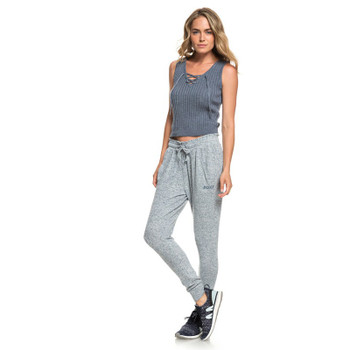 Roxy Just Yesterday Super Soft Joggers - Blue Mirage Heather