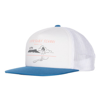 SisstrEvolution What U Trucking About Trucker Hat - True Blue