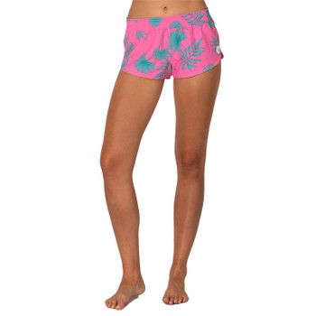 SisstrEvolution Sweet Sol Pull On Boardshort - Pop Pink