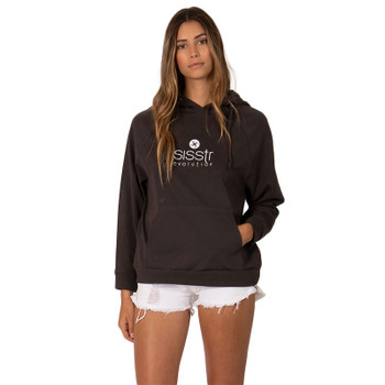 SisstrEvolution Sisstr Stacked Hoodie - Charcoal
