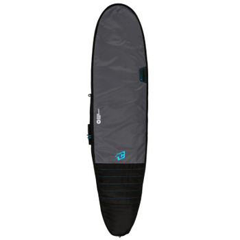 Creatures of Leisure Longboard Day Use Surfboard Bag - Charcoal Cyan