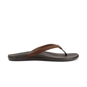 Olukai Women's Ho'Opio Sandals - Dark Java / Dark Java