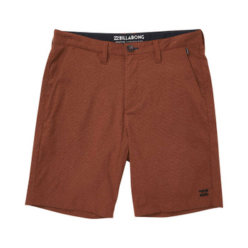 Billabong Crossfire X Micro Shorts - Rust Brown