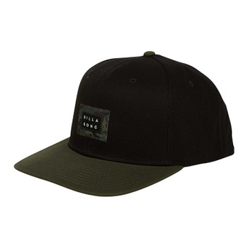 Billabong Plateau Snapback Hat - Black