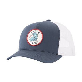 Salty Crew Ding Repair Retro Trucker Hat - Navy / White