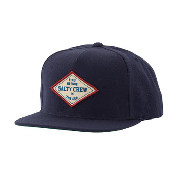 Salty Crew Four Corners 5 Panel Hat - Navy