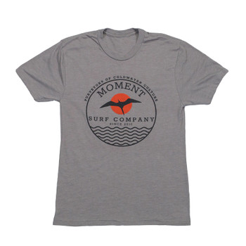Moment Tropicbird Sunset Tee - Charcoal