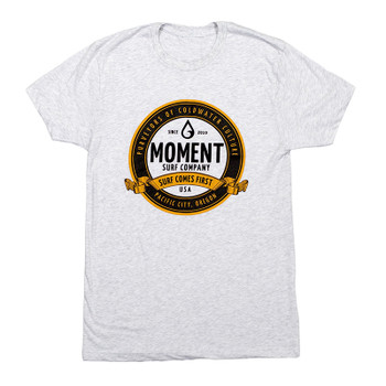 Moment Craft Brew Tee - Light Heather Grey