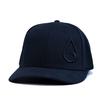 Moment Raindrop Flexfit Hat - All Black