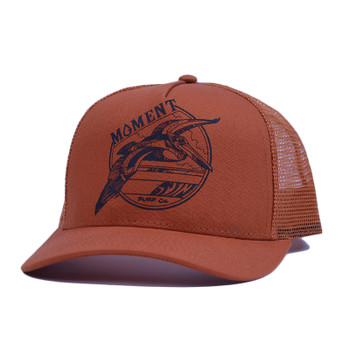 Moment Pelican Trucker Hat - Burnt Orange