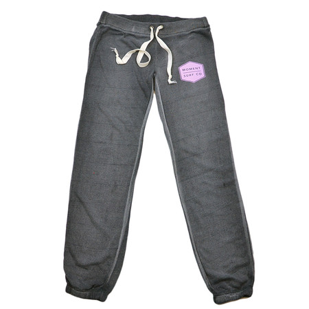Moment Women's Boxed Logo Sweatpant - Lilac