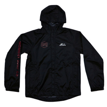 Moment Discovery Division Grundens  Rain Jacket - Black