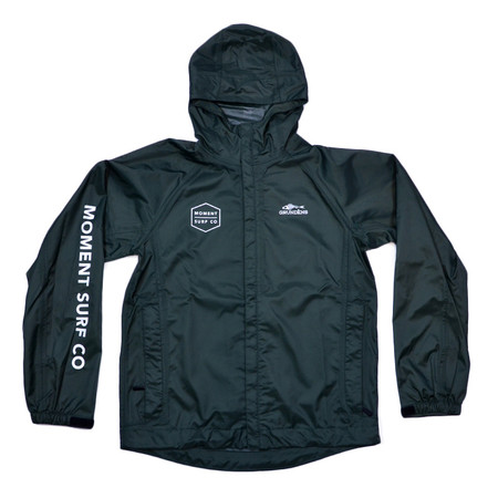 Moment Discovery Division Grundens  Rain Jacket - Green