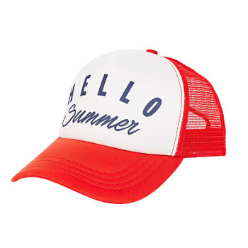 Billabong Across Waves Trucker Hat - Fuego