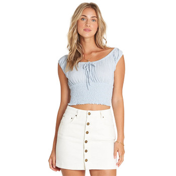 Billabong The Good Life Skirt - Sea Bleach
