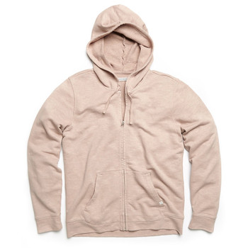 Outerknown Sur Zip Hoodie - Pink Moment
