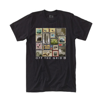 Hippytree Collage Tee - Black