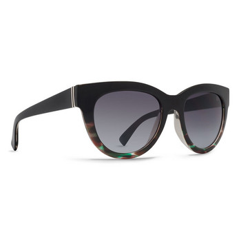 Von Zipper Queenie Sunglasses - Muddled Teal / Brown Gradient