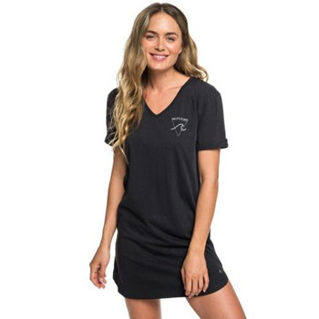 Roxy Pacific Groove T-Shirt Dress - Anthracite