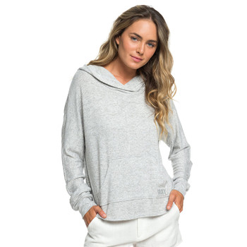 Roxy Secret Path Soft Touch Hoodie - Heritage Heather