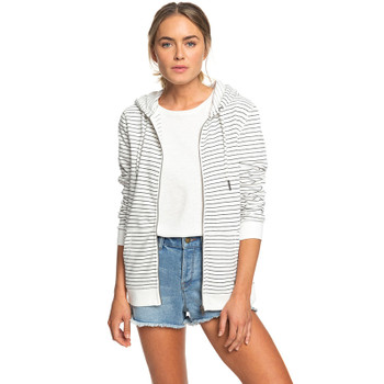 Roxy Trippin Stripes Zip Hoodie - Anthracite Pool Stripes - 2