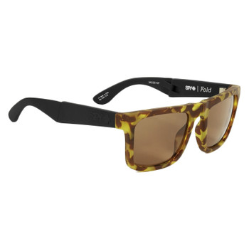 Spy Fold Sunglasses - Black 1956 / Happy Bronze