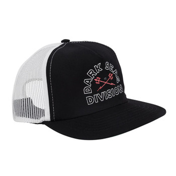 Dark Seas Hidalgo Hat - Black / White