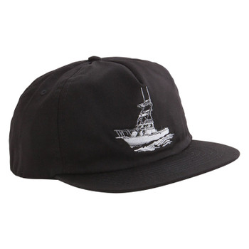 Dark Seas Broadside Hat - Black