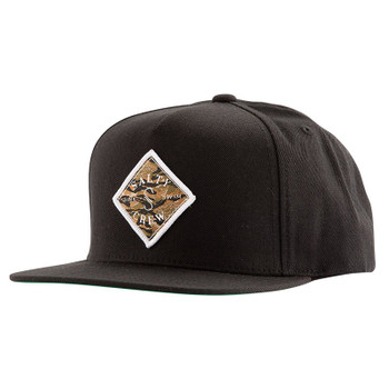Salty Crew Tippet Cover Up 5-Panel Hat - Black