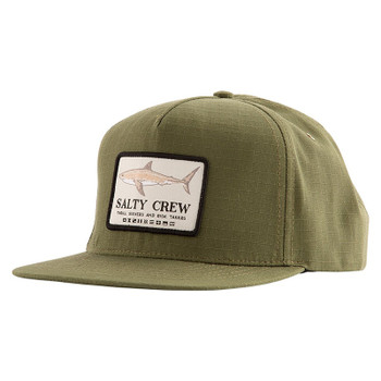 Salty Crew Farallon 5-Panel Hat - Olive