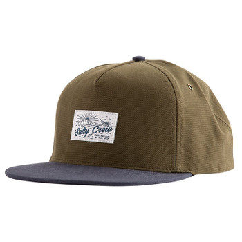 Salty Crew Frenzy Two Tone 5-Panel Hat - Loden / Navy