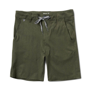 Roark Explorer Hybrid Stretch Short - Military
